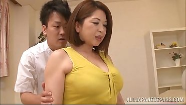 Chubby Asian Babe'_s Big Tits Natsuko Kayama