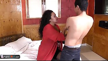 AgedLovE Hot Mature Latina Sharon Hardcore Fuck