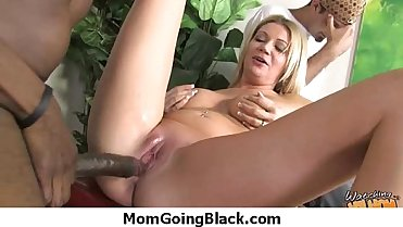 Mommy stuffed with BBC 20