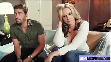 Hard Intercorse Action With Big Tits Slut Mommy (julia ann) clip-15