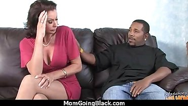 Watching a sexy milf going interracial 28
