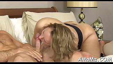 Sultry mom screwed by a sexy lad