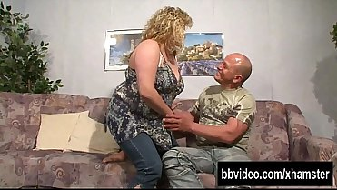 German BBW milf From SEXDATEMILF.COM gets take dick