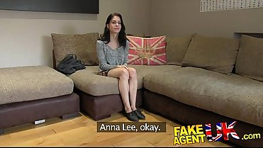 FakeAgentUK Petite American From ADULTLOVEDATING.COM fucks her new casting agent