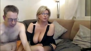 Mature mom have a webcam sex with big perfect tits - more on MyGoProPussy.com