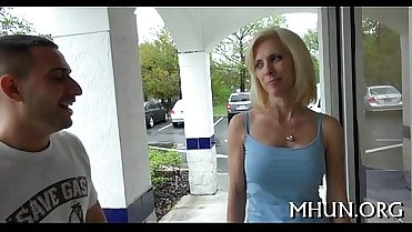 Milf is enticed and then screwed