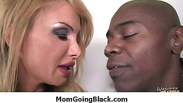 Mom go black Amazing interracial sex 35