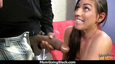 White Ass MILF Interracial Fantasy 23