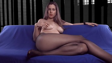 Pantyhose mom talking