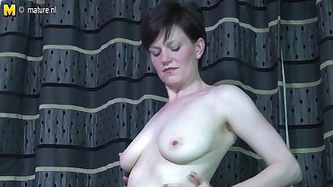 Hot British mature mom needs a good fuck