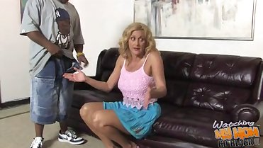 Dirty white mature mom Dana Devine owned by BBC