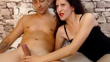 Horny Mom Doggystyle Hard fuck On Webcam