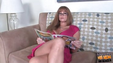 Hot mature mom Darla Crane owned by BBC