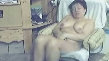 My mom home alone fingering untill she had orgasm