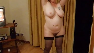 Sexy Hairy Big Busty Mom