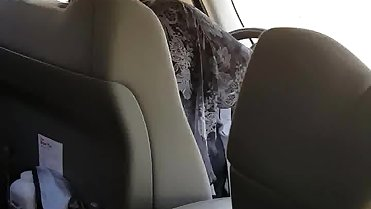 Flashing mom while driving