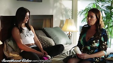 Leah Gotti Caught with Stepmoms Vibrator