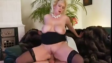 THE MOTHER OF HIS FRIEND IS AN AUTHENTIC WHORE IN HEAT