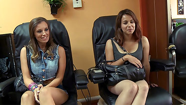 Sexy Jamie Jackson Gets Seduced At The Salon