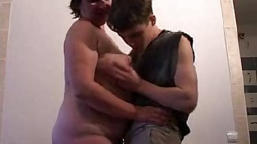BBW Mature + Boy 02 From MatureSide
