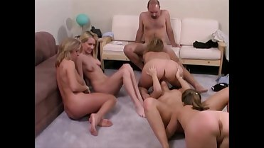 A Carol Cox Classic Orgy with an All Facial Finish )