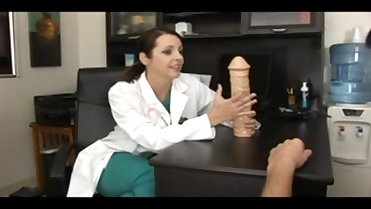 Doctor Sucking Patient's Cock