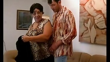 Horny fat mom needs hard sex