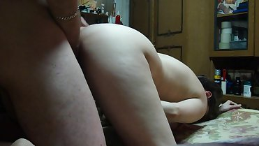 Man Fuck Russian Wife at Home